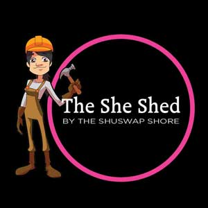 The Shse Shed by the Shuswap Shore